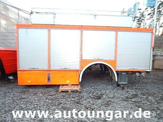 cassone furgonato MERCEDES-BENZ Schlingmann Feuerwehr Aufbau m Rosenbauer Pumpe 24/8