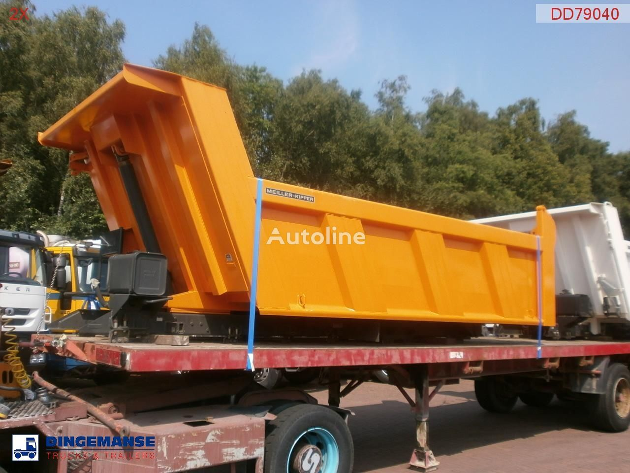 cassone ribaltabile MEILLER Tipper 115 h new/unused nuovo