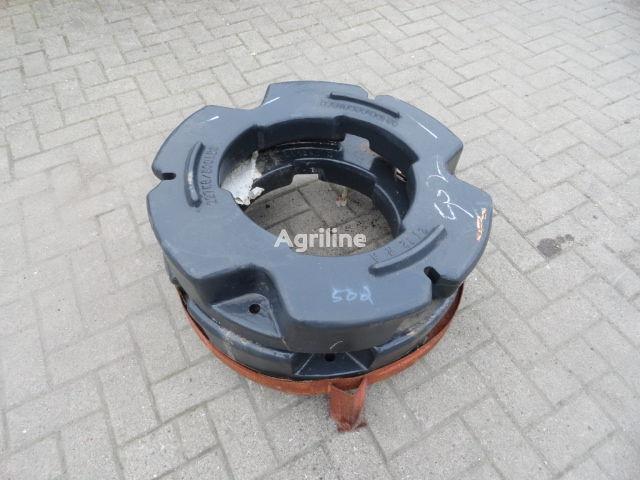 contrappeso Hinterradgewichte CNH 227 kg nuovo