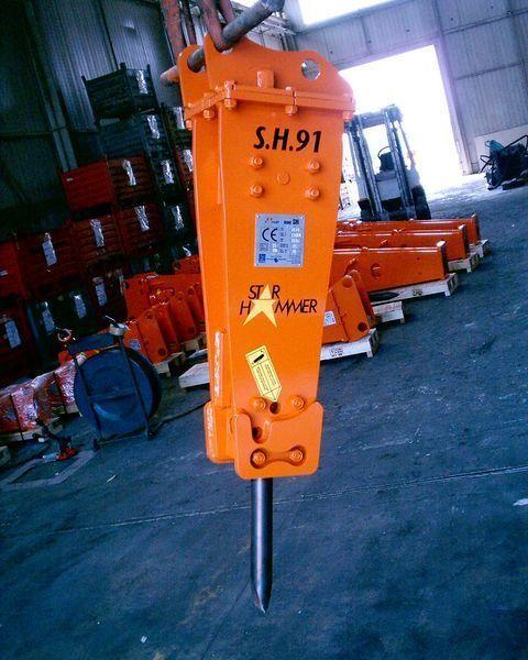 martello idraulico STAR Hammer SH 91 nuovo