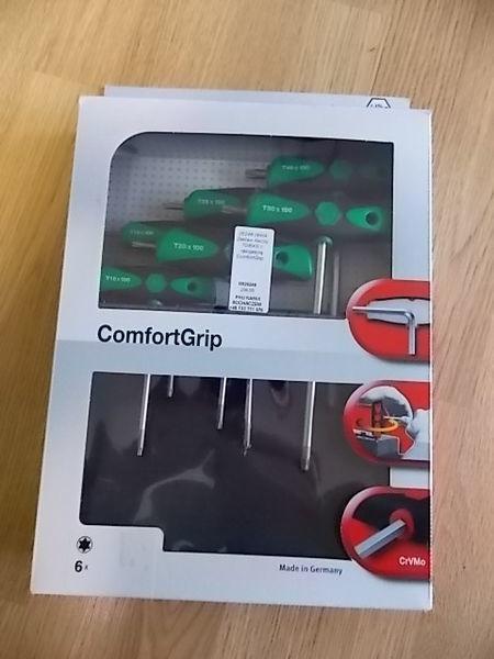 utensile per manutenzione veicolo Zestaw kluczy TORX z rękojeścią ComfortGrip.