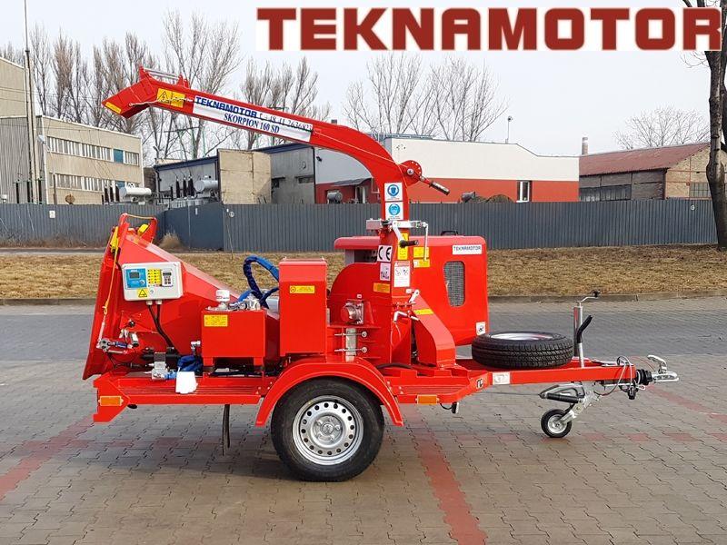 biotrituratore TEKNAMOTOR Skorpion 160SD nuovo