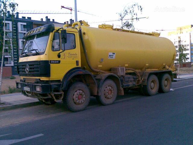 camion autocisterna MERCEDES-BENZ 3534 K