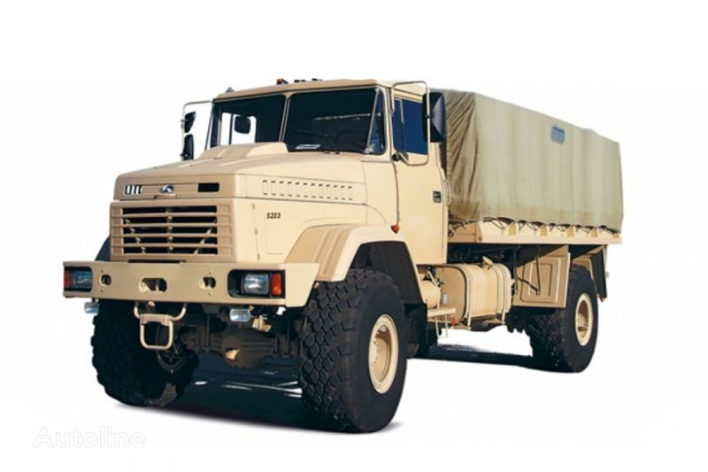 camion centinato KRAZ 5233VE