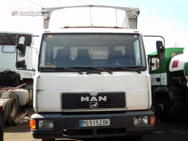 camion centinato MAN 12 .224 LL-K