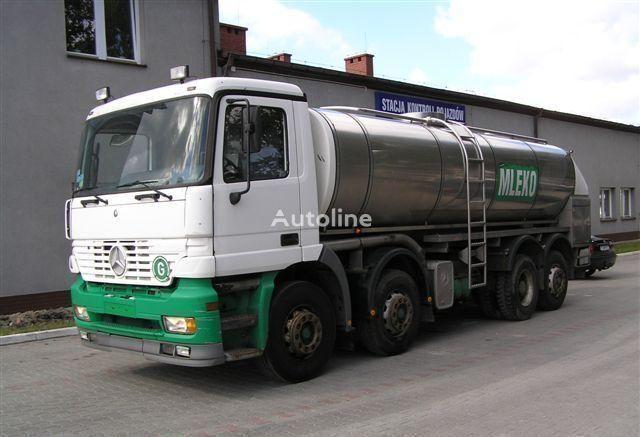 camion cisterna per latte MERCEDES-BENZ ACTROS 3340