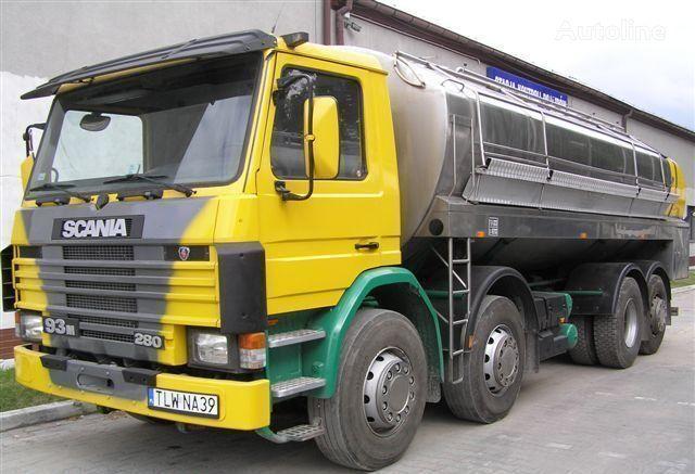 camion cisterna per latte SCANIA 93M Cysterna Spożywcza