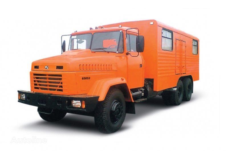 camion militare KRAZ 65053 masterskaya