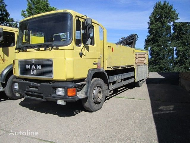 camion pianale MAN 18.190 Pritsche  4x2