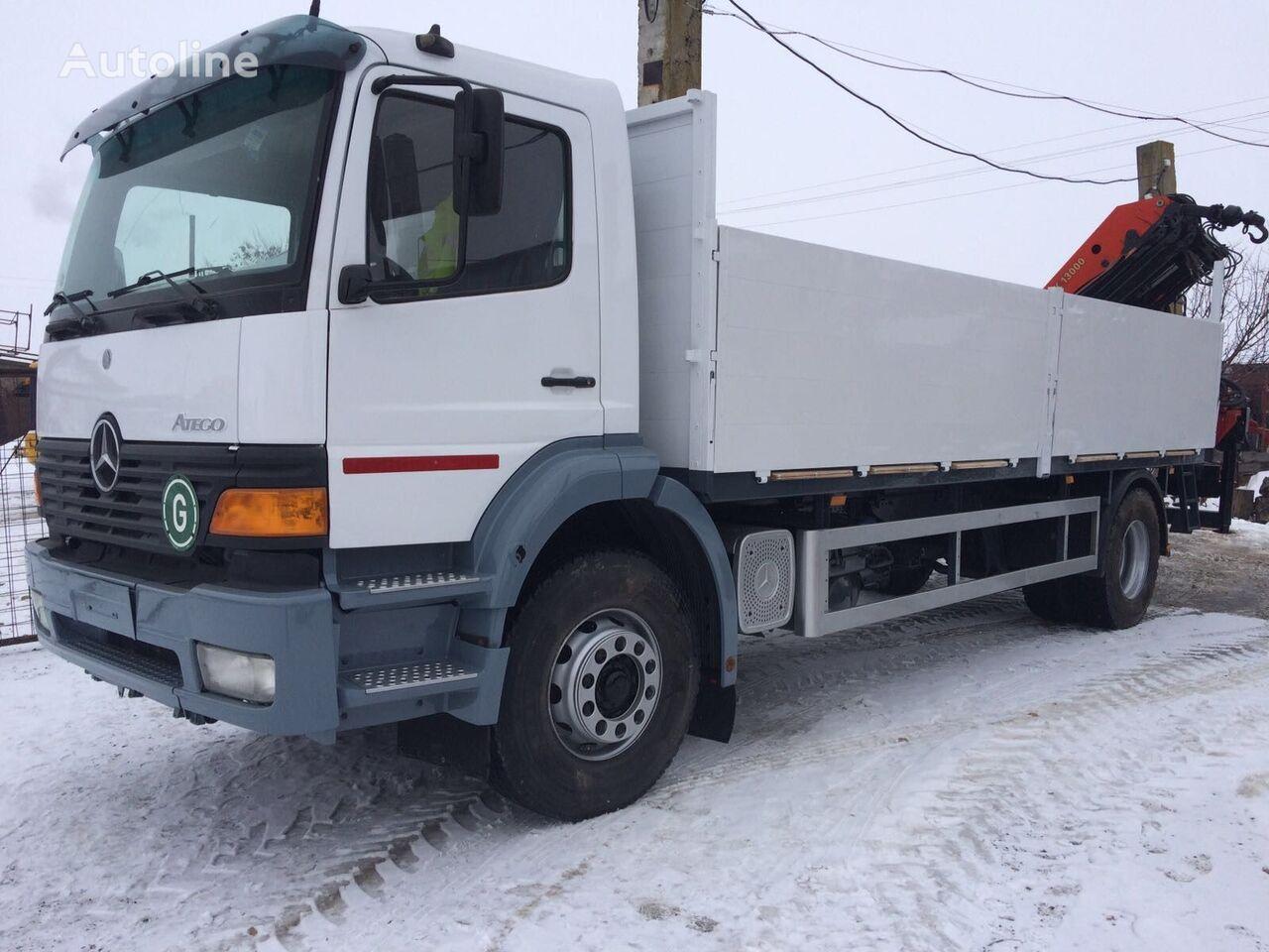 camion pianale MERCEDES-BENZ ATEGO 1828 Palfinger PK 13000
