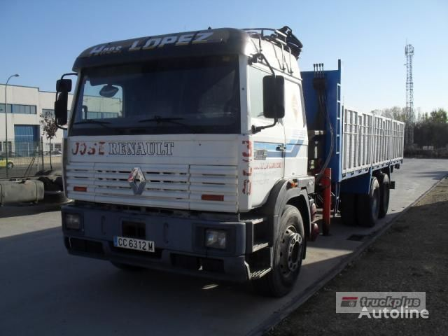 camion pianale RENAULT MANAGER DG 330
