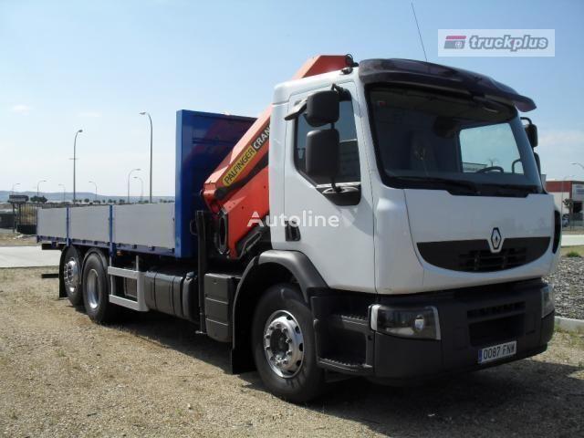 camion pianale RENAULT PREMIUM 370