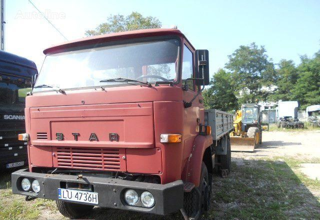 camion pianale STAR 1142 truck lorry pritsche