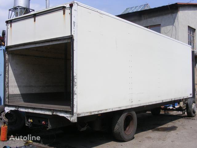 camion pianale prachotěsná nástavba MONTEX