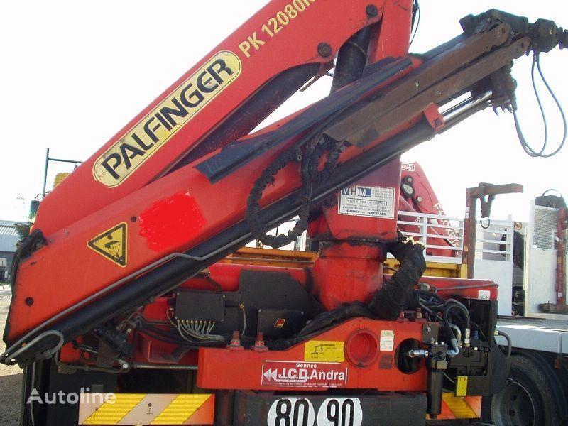 camion piattaforma RENAULT KERAX 340 PALFINGER PK - 12080