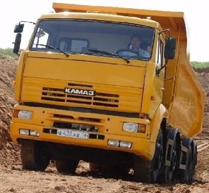 camion ribaltabile KAMAZ 65201 nuovo