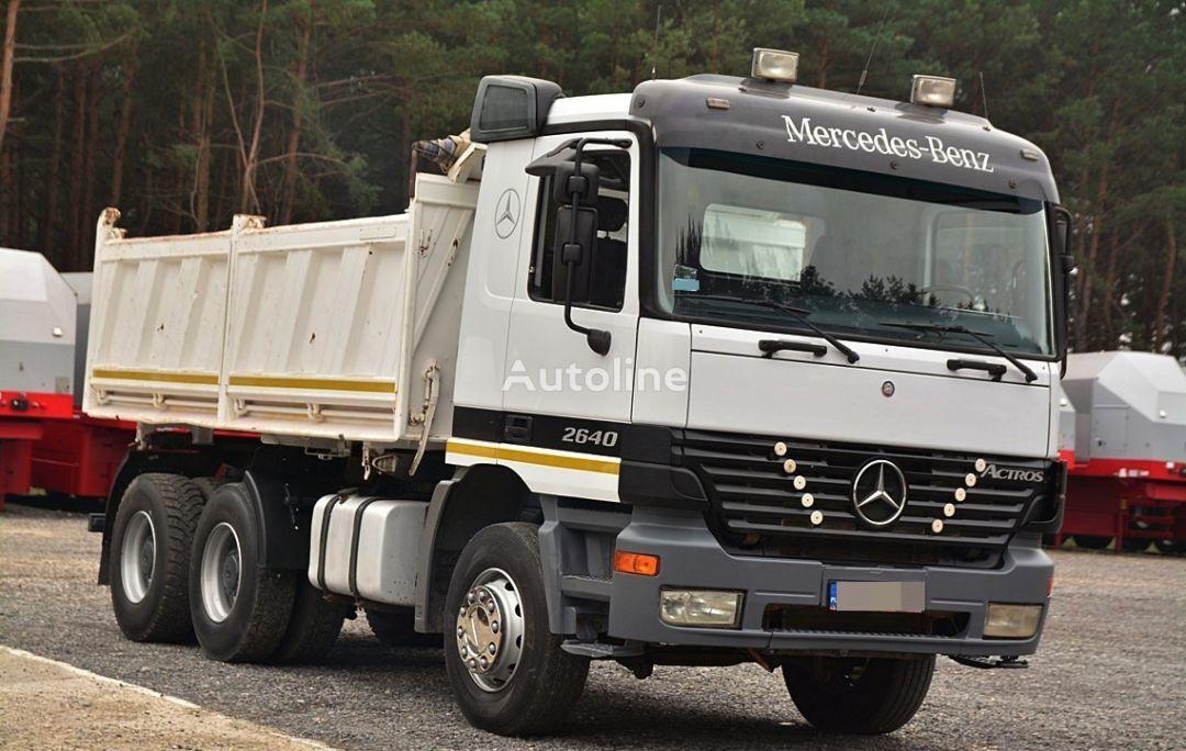 camion ribaltabile MERCEDES-BENZ ACTROS 2640