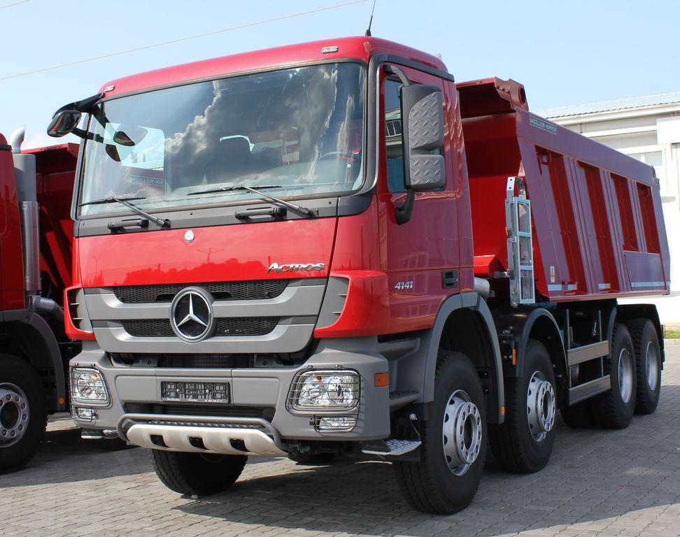 camion ribaltabile MERCEDES-BENZ Actros 4141 K nuovo