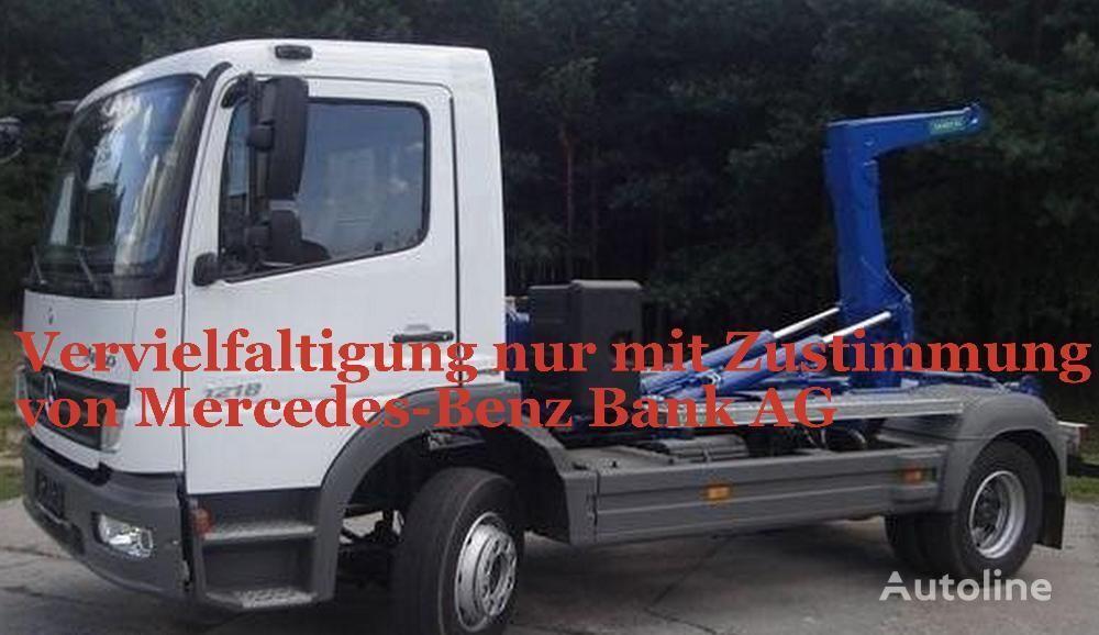 camion scarrabile MERCEDES-BENZ Atego 1218