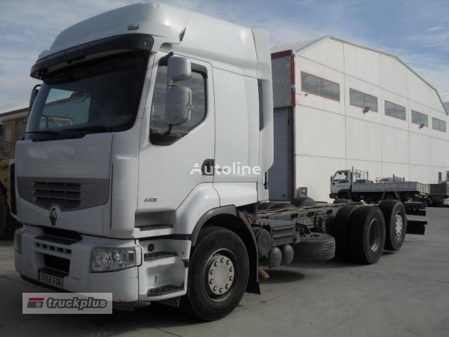 camion telaio RENAULT PREMIUM 440