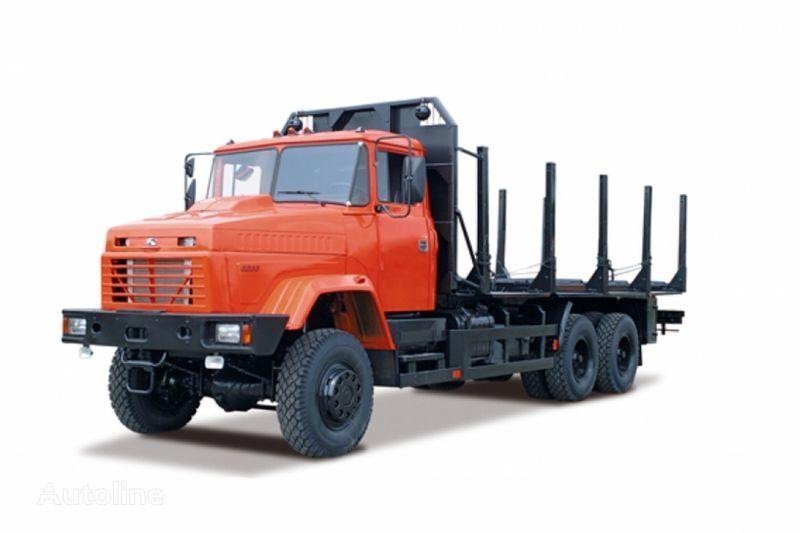 camion trasporto legname KRAZ 6233M6