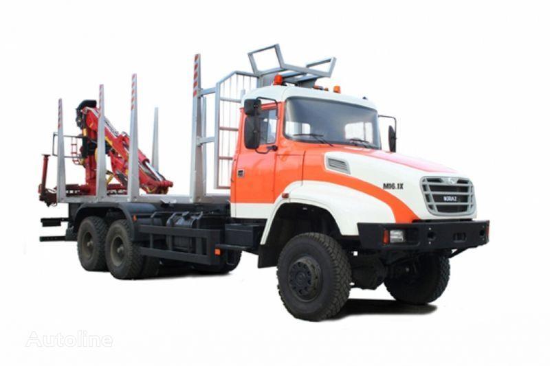 camion trasporto legname KRAZ M16.1H