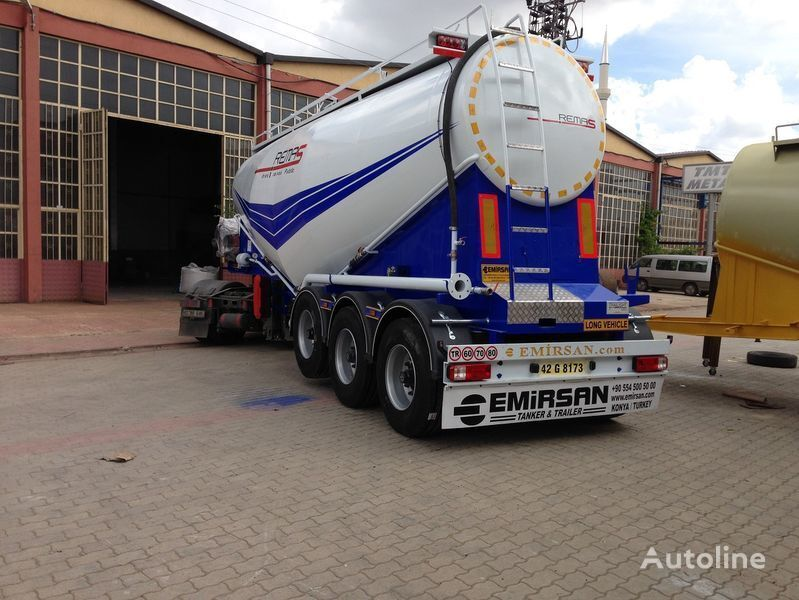 cisterna di cemento EMIRSAN Manufacturer of all kinds of cement tanker at requested specs
