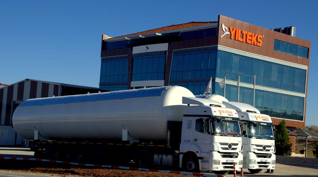 cisterna per gas YILTEKS LPG Storage Tank nuova