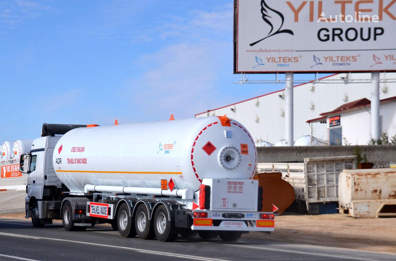 cisterna per gas YILTEKS LPG TRAİLER - ADR nuova