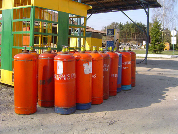 cisterna per gas ZBA LPG cylinders PROPAN BUTAN