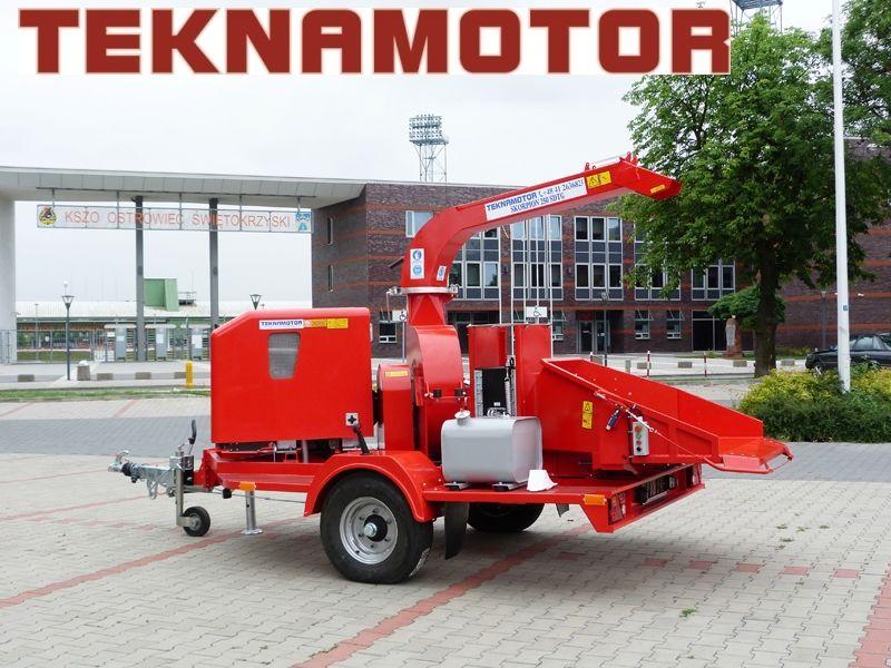 biotrituratore TEKNAMOTOR Skorpion 250 SDT/G nuovo