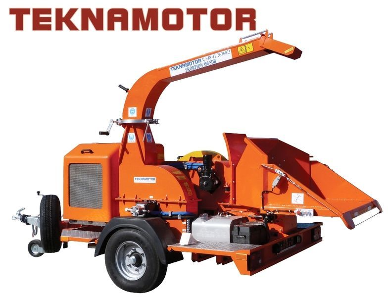biotrituratore TEKNAMOTOR Skorpion 350 SDB nuovo