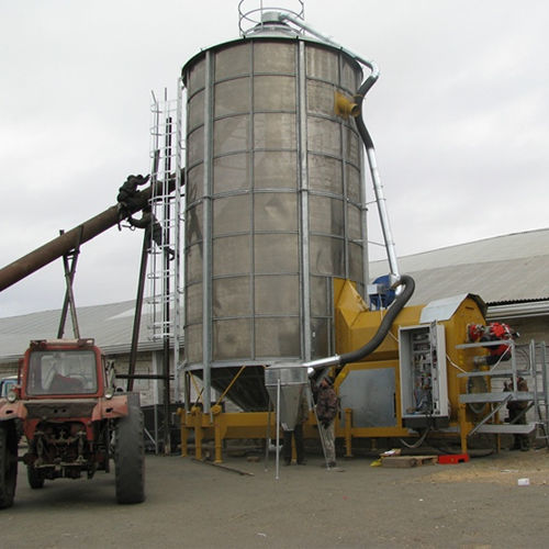 essiccatoio per cereali Mobilnaya zernosushilka MECMAR F 75/570F