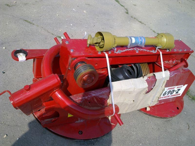 falciatrice Rotornaya kosilka Z-169, Z-069, Z-173 pr-vo Polsha nuovo
