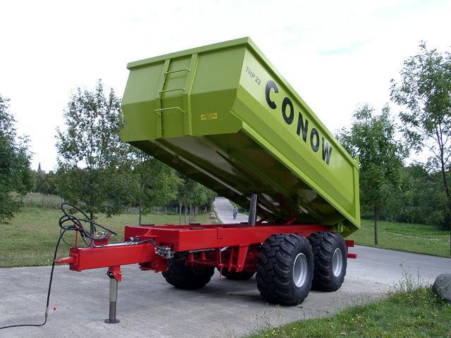 rimorchio agricolo CONOW THP 22 nuovo