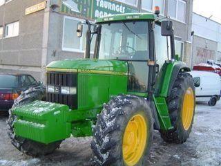 trattore gommato JOHN DEERE 6600