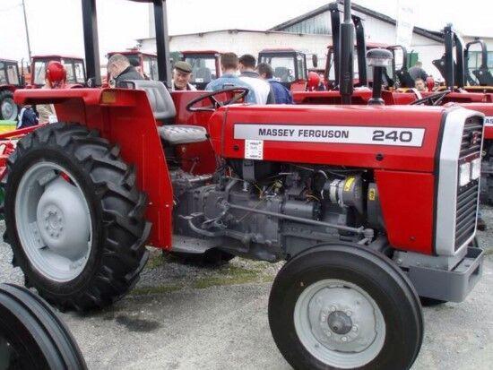 trattore gommato MASSEY FERGUSON 240 nuovo