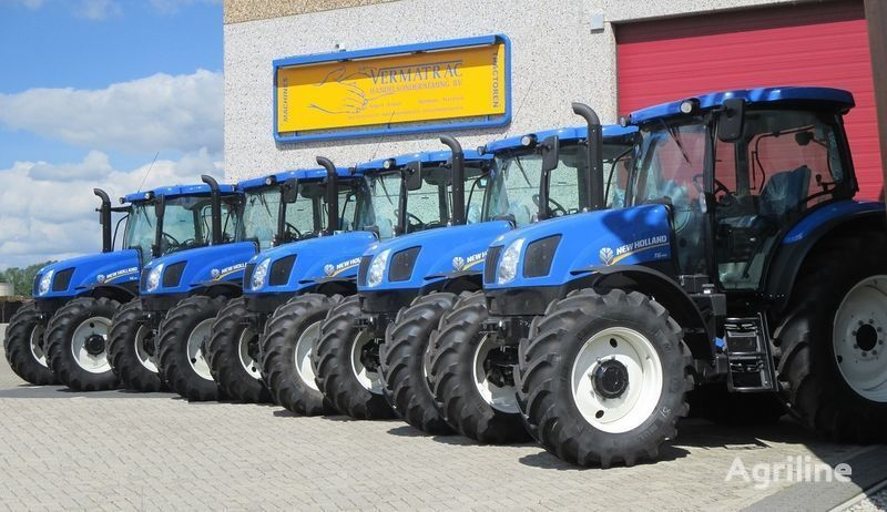 trattore gommato NEW HOLLAND T6.140 AEC, air, front suspensoin! nuovo