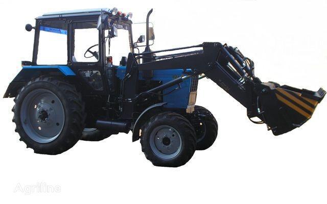 trattore gommato Frontalnyy chelyustnoy BAM-2021 na traktore MTZ