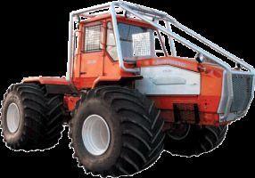 trattore gommato HTA-200-07