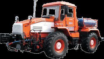 trattore gommato MMT-2  Manevrovyy motovoz na baze traktora HTA-200
