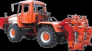 trattore gommato Universalnaya putevaya mashina UPM-1M na baze traktora HTA-200