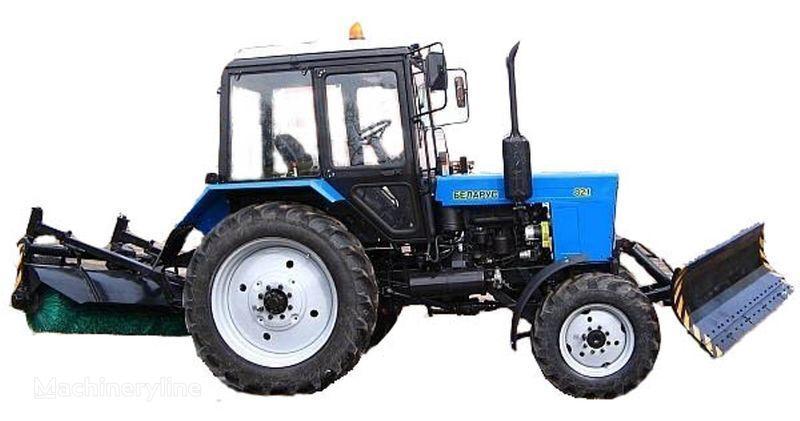altro macchine comunali MTZ BAM-2 (otval+shchetka)na traktorah MTZ