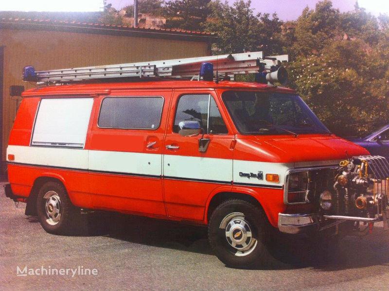 autobotte pompieri Chevrolet Van G-30