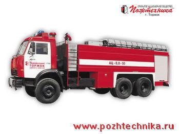autobotte pompieri KAMAZ AC-8,8-50