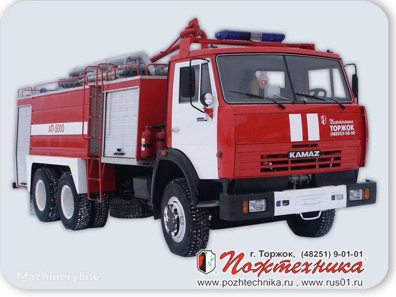 autobotte pompieri KAMAZ AP-5000 Avtomobil poroshkovogo tusheniya