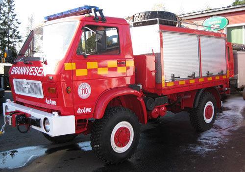 autobotte pompieri MAN 8.150, 4x4 WD