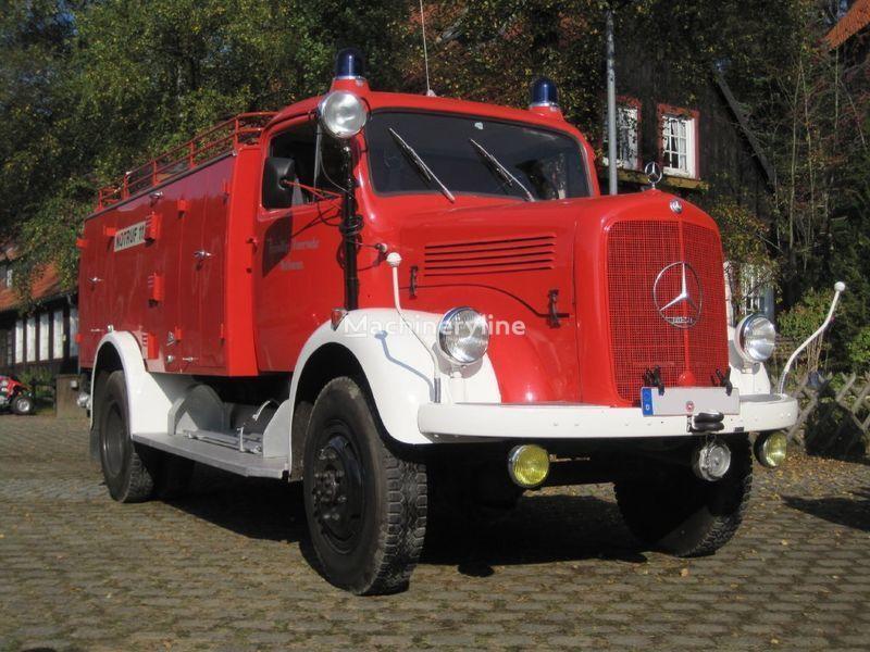 autobotte pompieri MERCEDES-BENZ LAF 311 Oldtimer