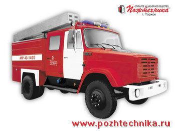 autobotte pompieri ZIL ANR-40-1400 Avtomobil nasosno-rukavnyy