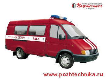 autopompa GAZ ASh-5 Avtomobil shtabnoy